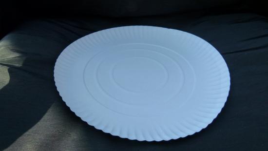 Papírový tácek kulatý r=34cm
