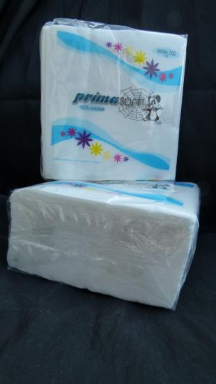 """Papírové ubrousky """"STYLE"""" bílé 33x33 cm"""