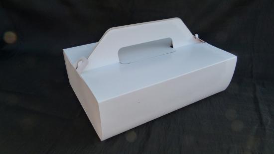Krabice na zákusky - nosič 27x18x8 cm
