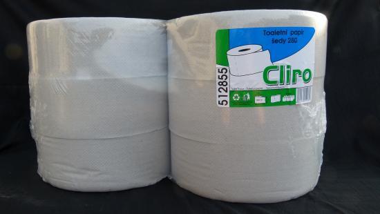 Toaletní papír JUMBO 280 1.vrstvý