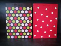Papírová taška - puntíky P9