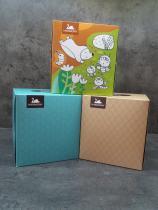Papírové kapesníky CUBE BOX 3-vrstvé