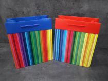 Papírová taška - P4 pruhy