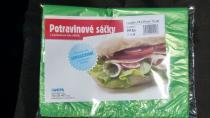 Potravinové sáčky HDPE blokované 25x35 cm